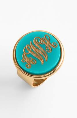 Moon and Lola 'Vineyard' Personalized Monogram Ring