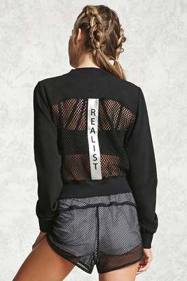 Forever 21 Active Realist Mesh Jacket