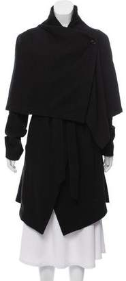 Ann Demeulemeester Franklyn Wool-Blend Coat