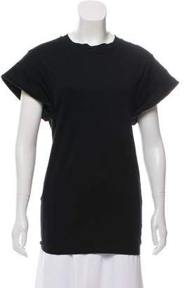 Isabel Marant Padded Open-Back Top