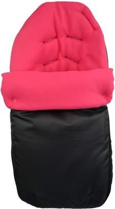 Cuddles Collection Showerproof Fleece Lined Carseat Footmuff (Cerise)