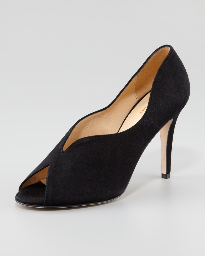 Kate Spade New York Chesley High-Vamp Peep-Toe Pump