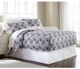Shavel Micro Flannel Twin Fitted Quilt Mini Set