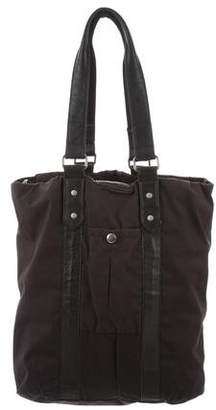 Rag & Bone Leather-Trimmed Canvas Tote