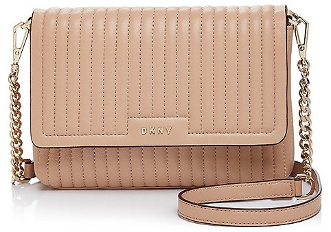 DKNY DKNY Flap Small Leather Crossbody