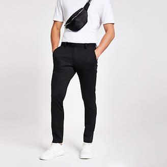River Island Dark grey skinny suit trousers