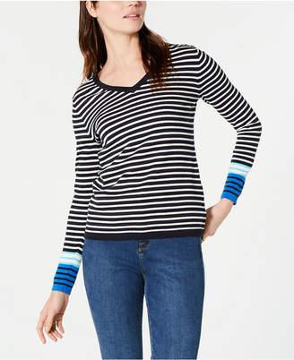 Tommy Hilfiger Cotton Breton Stripe Ivy Sweater
