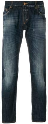 Closed light-wash fitted jeans