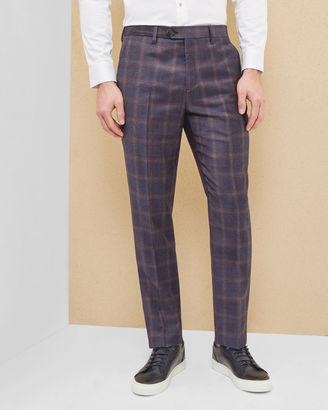Checked wool pants $235 thestylecure.com