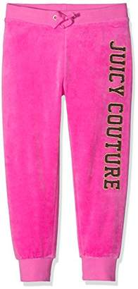 Juicy Couture UK Apparel, JUII9 Girl's Logo VLR Glam Ring ZU Pant Trousers