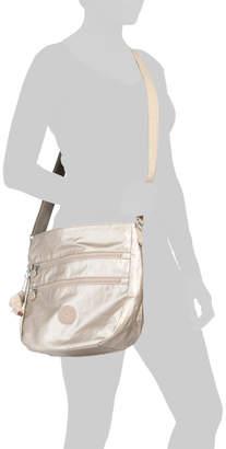 Zelenka Nylon Large Multi Zip Pocket Crossbody