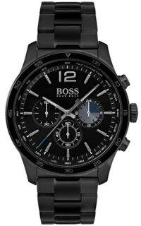 HUGO BOSS Professional, Stainless Steel Chronograph 1513528 One Size Assorted-Pre-Pack