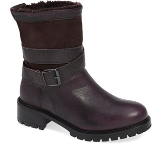 Ross & Snow Emilina Genuine Shearling Lined Waterproof Bootie