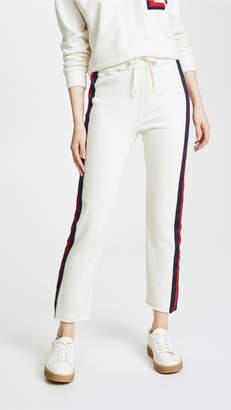 Mother Slim Gym Fray Pants
