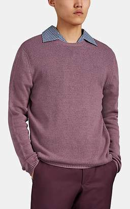 Prada Men's Cashmere Crewneck Sweater - Mauve