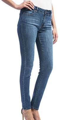 Liverpool Jeans Company Women's Abby Skinny Destruct in Vintage Super Comfort Stretch Denim
