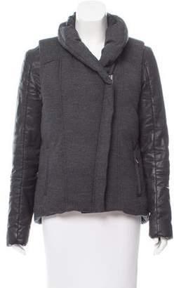Helmut Lang HELMUT Wool Down Coat
