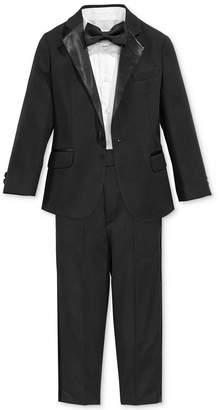 Nautica 4-Piece Tuxedo Suit, Shirt & Bowtie, Toddler & Little Boys' (2T-7) $89.50 thestylecure.com