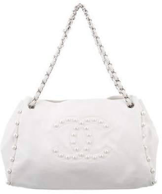 Chanel Pearl Obsession Tote White Pearl Obsession Tote