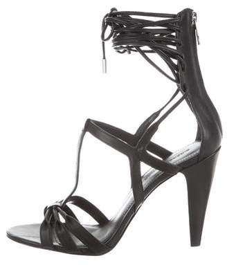 Sigerson Morrison Smmelody Lace-Up Sandals w/ Tags