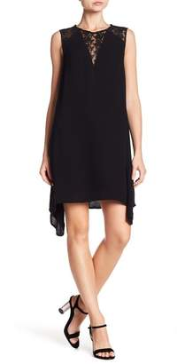 French Connection Hennessey Mesh Cutout Dress