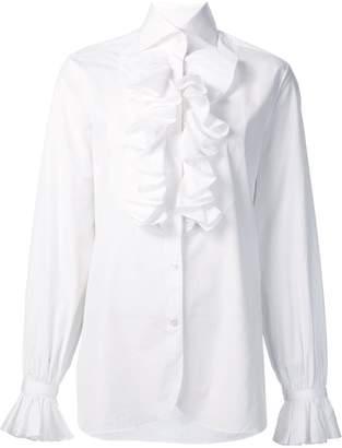 Ralph Lauren ruffled detail shirt
