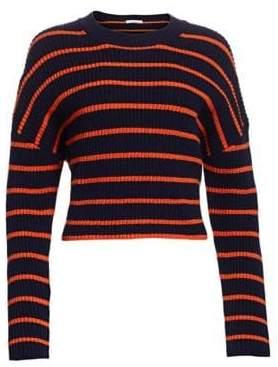 A.L.C. Portland Stripe Long Sleeve Knit Sweater