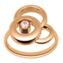 Chopard Happy Dreams Diamond& 18K Rose Gold Ring
