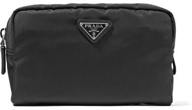 pradaPrada - Shell Cosmetics Case - Black