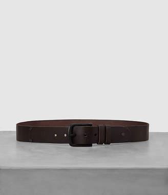 AllSaints Wide Annex Leather Belt