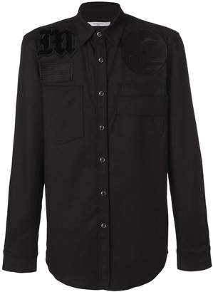 Givenchy embroidered fitted shirt