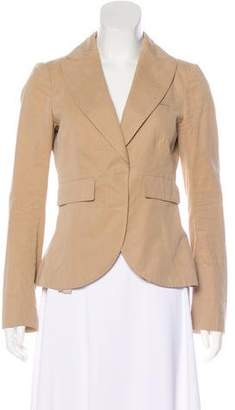 Brunello Cucinelli Draped Structured Blazer