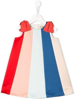 Hucklebones London rainbow trapeze dress