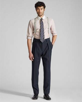 Ralph Lauren Slim Herringbone Suit Trouser