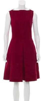 Calvin Klein Collection Virgin Wool & Cashmere-Blend Sleeveless Dress
