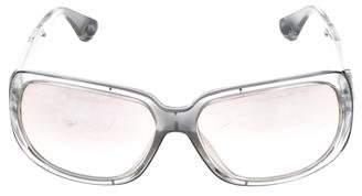 Michael Kors Square Mirrored Sunglasses