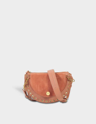 See by Chloe Kriss Small Crossbody Bag in Cheek Suede