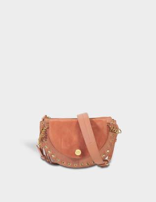 See by Chloe Kriss Small Crossbody Bag in Cheek Suede