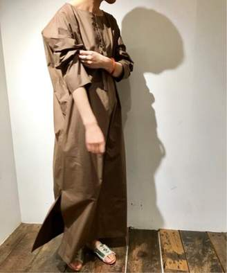 Journal Standard (ジャーナル スタンダード) - journal standard luxe 【ATON/エイトン】 SQUARE COTTON MAXI DRESS