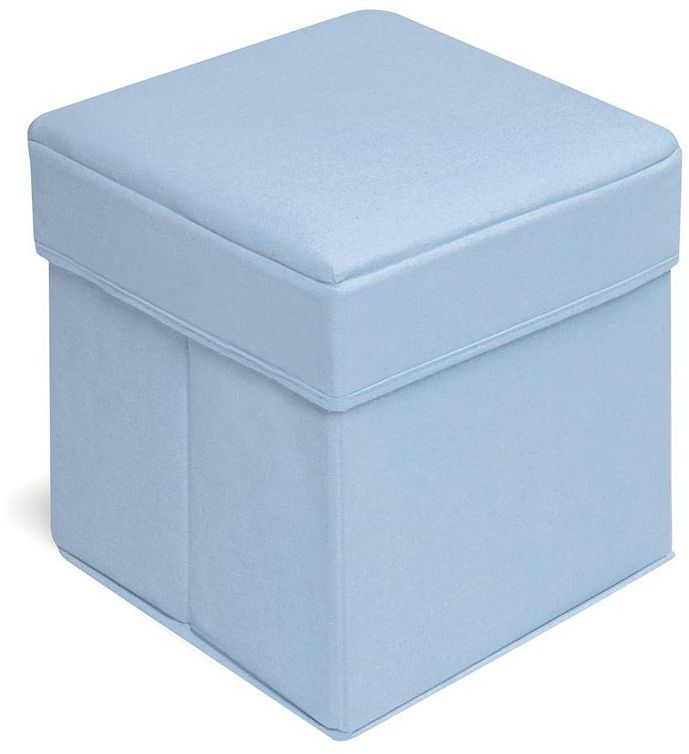 Badger Basket Folding Storage Seat - Blue
