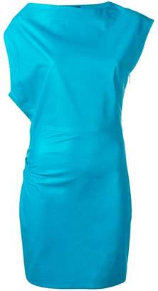Versace asymmetric mini dress