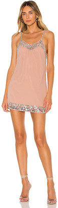 NBD Janice Embellished Mini Dress