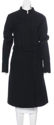 Narciso Rodriguez Virgin Wool Reversible Coat