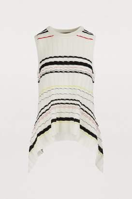 Proenza Schouler Silk-blend top