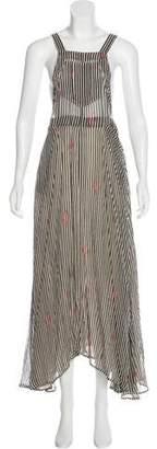 Etoile Isabel Marant Striped Maxi Dress