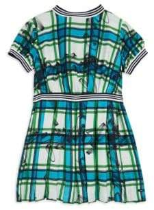 Burberry Little Girl's& Girl's Melby Plaid Silk Dress