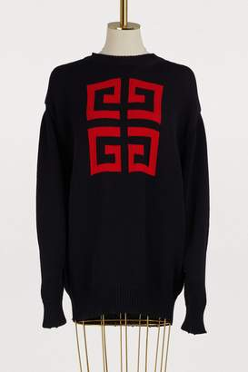 Givenchy Cotton oversized pullover