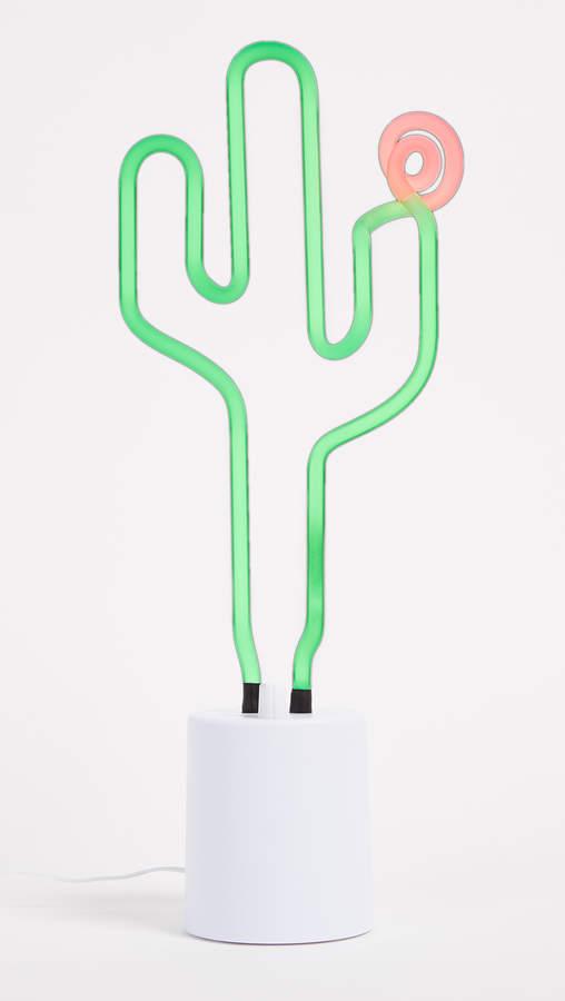 Neon Cactus Large Light