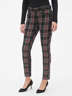 Gap Skinny Ankle Pants with Buckle Detail