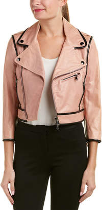 RED Valentino Leather Jacket